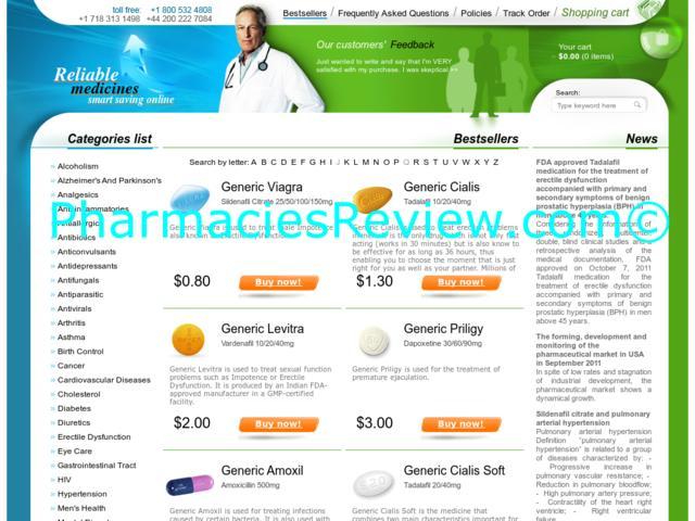 Reliable online pharmacy uk
