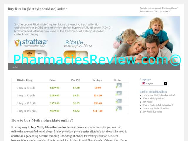 ritalin online pharmacy