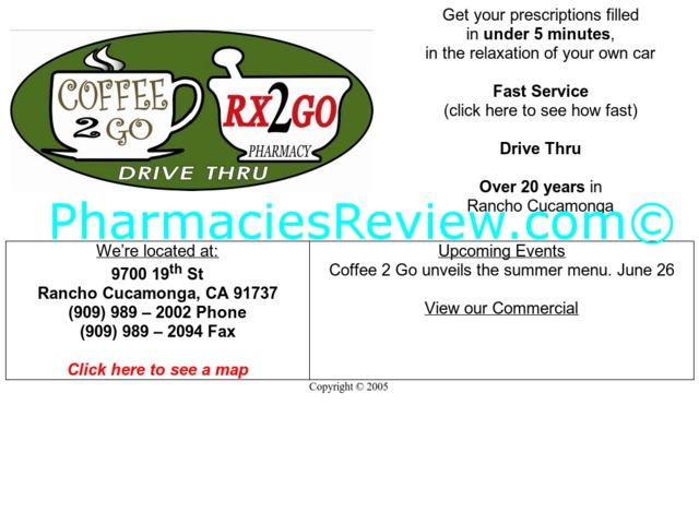 rx2go.com review