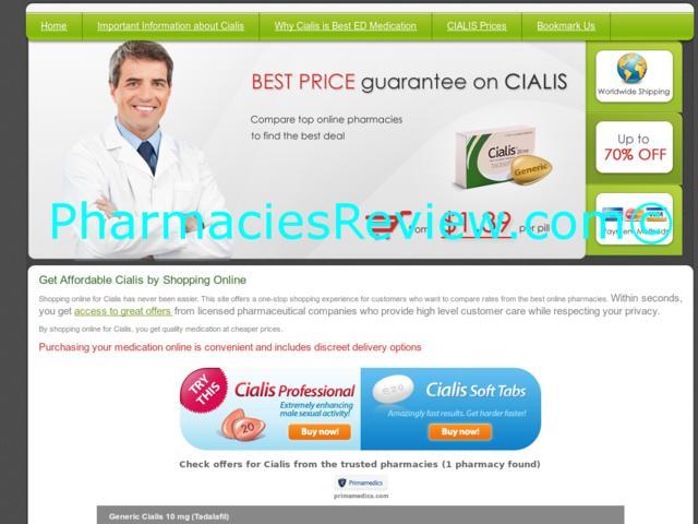 Compare Cialis Online