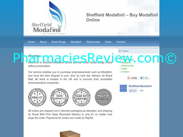 sheffieldmodafinil.com review