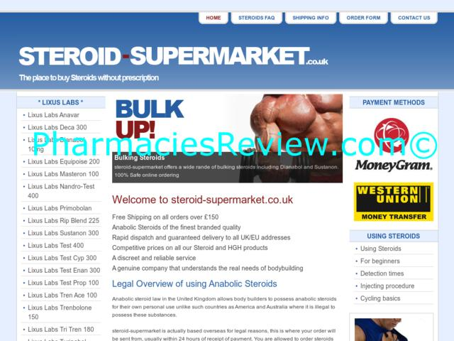 steroid-supermarket.co.uk review