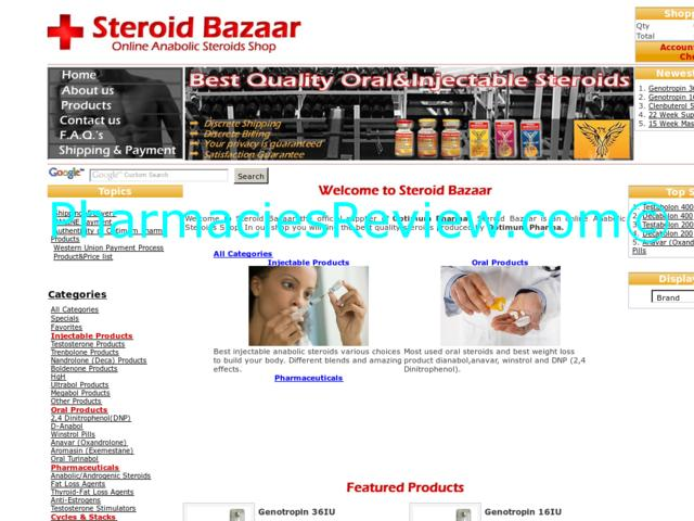 steroidbazaar.com review
