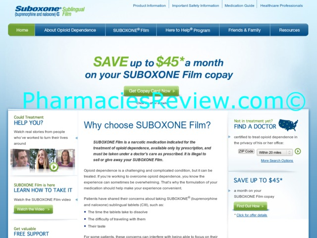 Suboxone discount coupon
