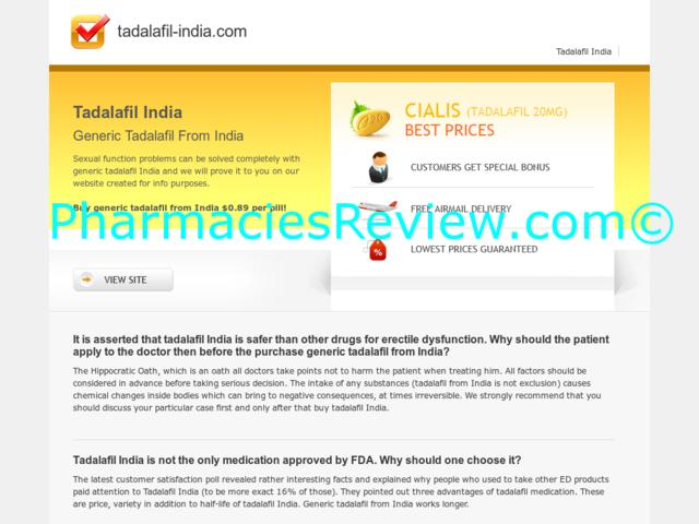 Cialis Drug From Generic India Safety
