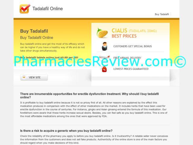 Tadalafil And Prices