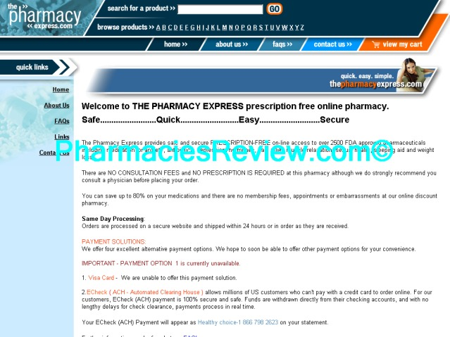 thepharmacyexpress.com review