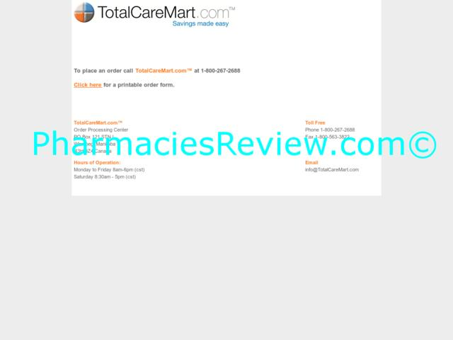 totalcaremart.com review