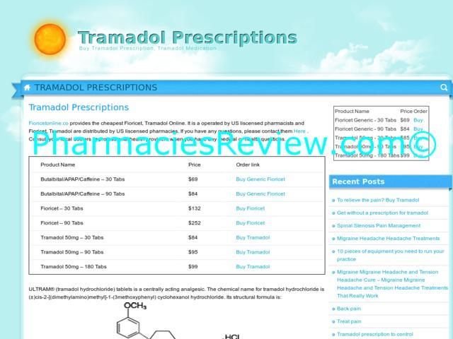 tramadol prescription regulations