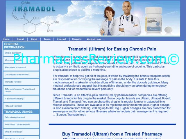 what conditions is tramadol used to treat