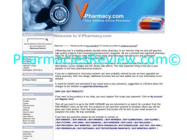 v-pharmacy.com review