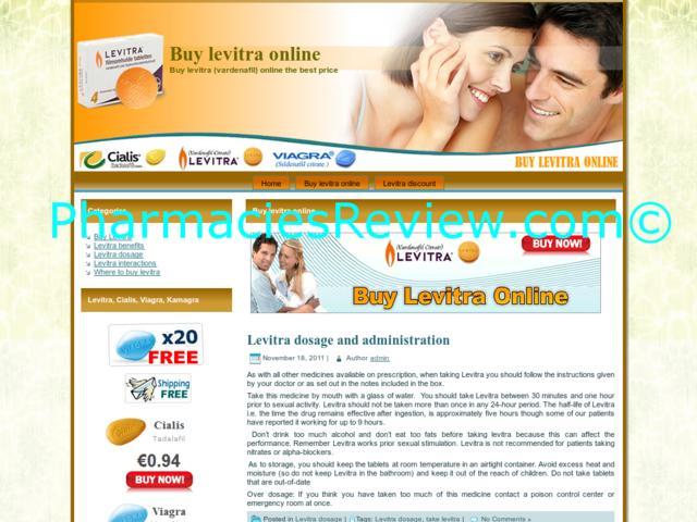 Buy Levitra Now
