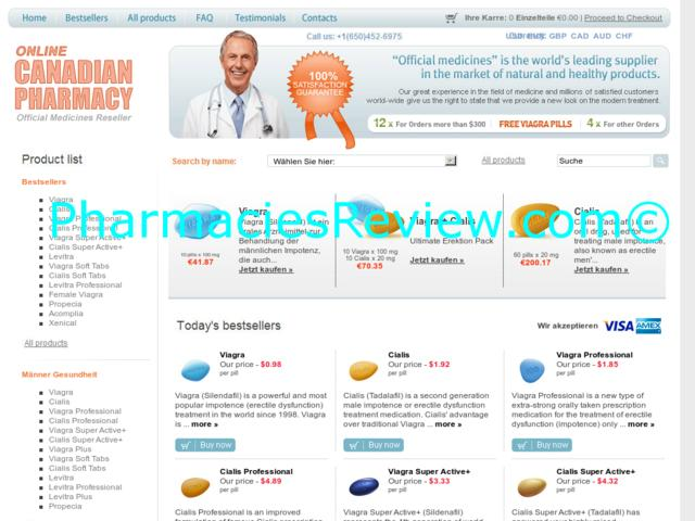 Canadian viagra review