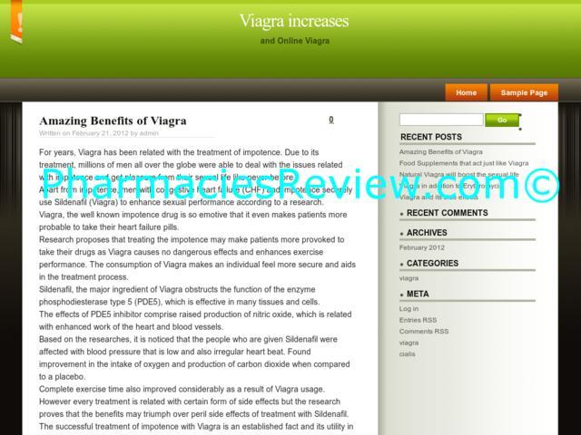 Side Benefits Of Viagra