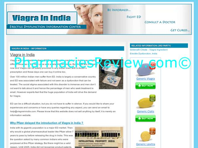 Information About Viagra