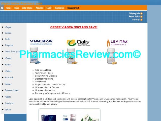 Online viagra pharmacy reviews
