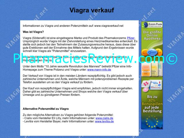 Verkauf Viagra