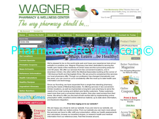 wagnerpharmacies.com review