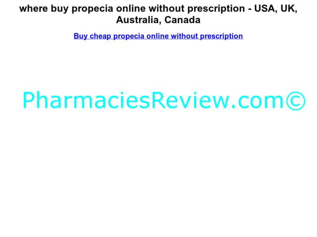 Buy Propecia Online Without Prescription