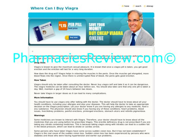 Where Can I Buy Viagra Online