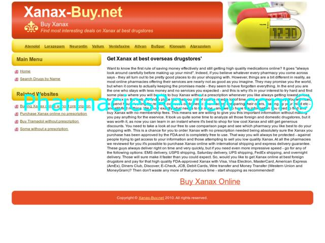 Ordering xanax online reviews