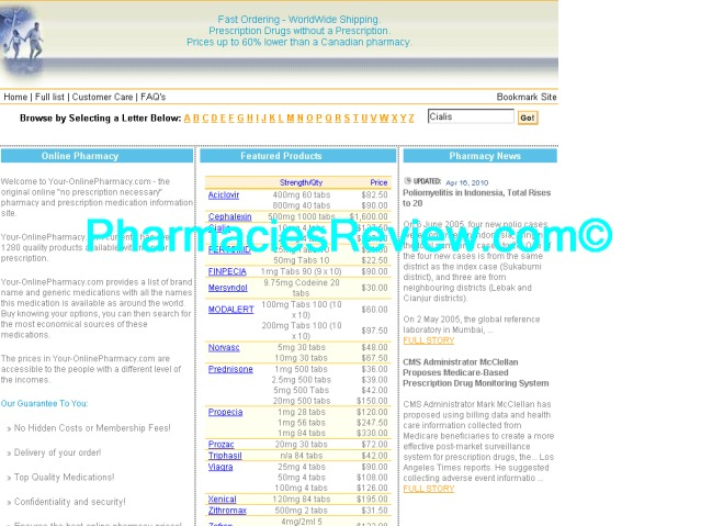 your-onlinepharmacy.com review