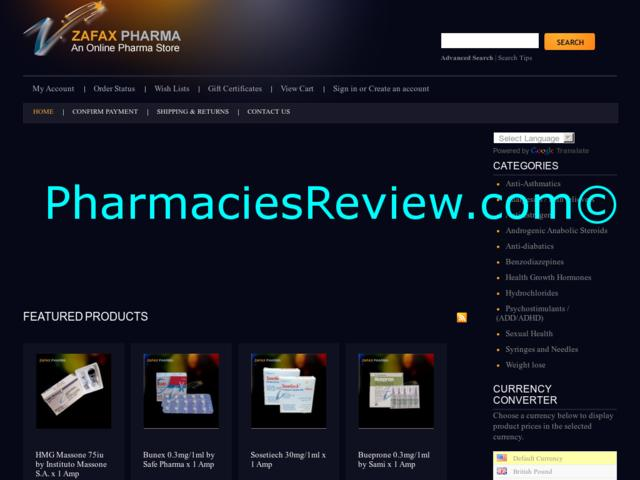 zafaxpharma.com review