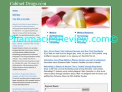cabinetdrugs.com review