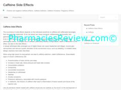 caffeinesideeffects.org review