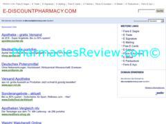 e-discountpharmacy.com review