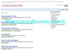 e-drugstore.org review