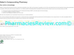 haberspharmacy.com review