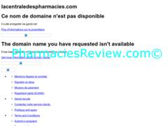 lacentraledespharmacies.com review