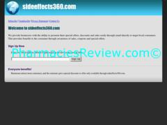 sideeffects360.com review