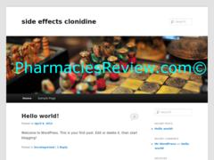 sideeffectsclonidine.org review