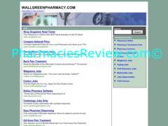 wallgreenpharmacy.com review