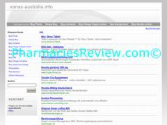 xanax-australia.info review