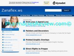 zanaflex.ws review