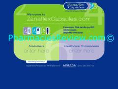 zanaflexcapsule.org review